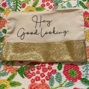 New glitter glam - Urban outfitters makeup bag